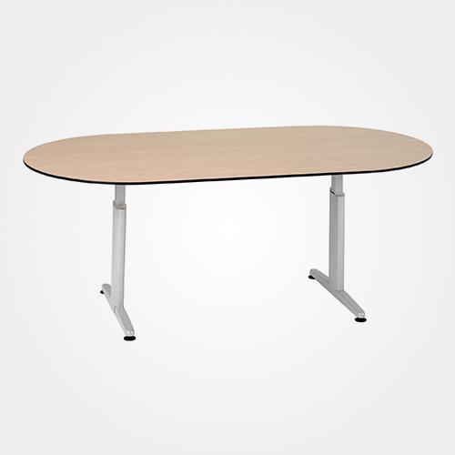 vergadertafel huren ovaal-200-x-100-cm