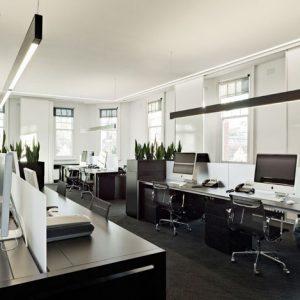 modern strak kantoor